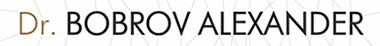 Александр Бобров – Доктор реабилитолог, физиотерапевт Логотип